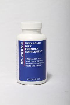Picture of NEW Dr. Poon's Metabolic Diet Supplements - 100 capsules