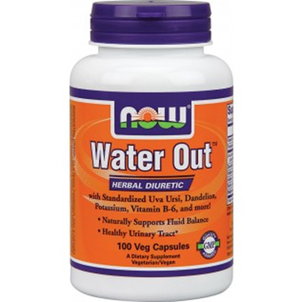 Picture of Now - Water Out - 100 veg capsules