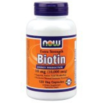 Picture of Now Biotin- 120 Cap. ( 10000 mcg)