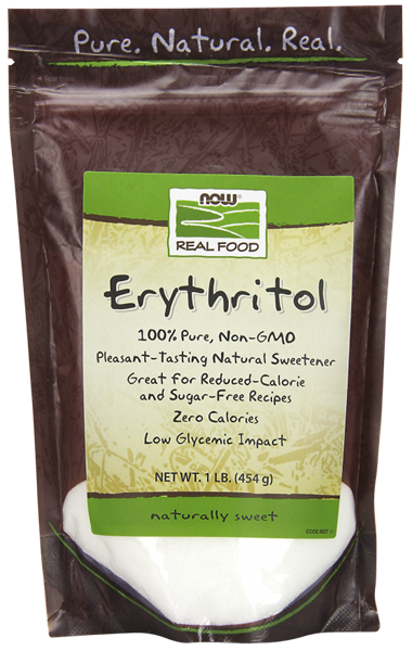 Picture of NOW Erythritol Natural Sweetener