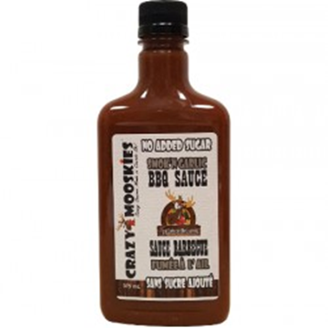 Picture of Crazy Mooskies BBQ sauce - Smok'n garlic