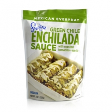 Picture of Frontera Enchilada Sauce - Green chille