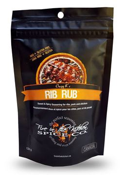 Picture of Fire In The kitchen - Rib rub