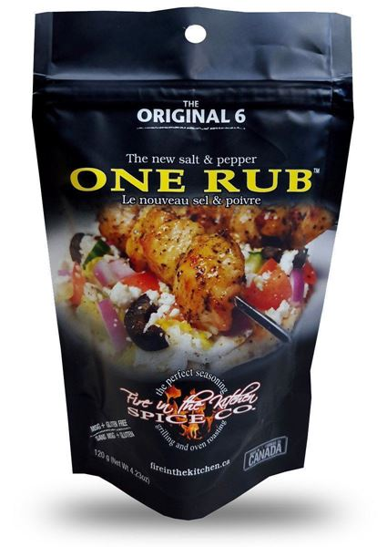 Picture of Fire In The Kitchen - One Rub (Pack)
