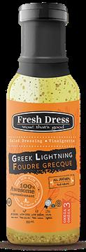 Picture of Fresh Dress Dressing Greek Lightning