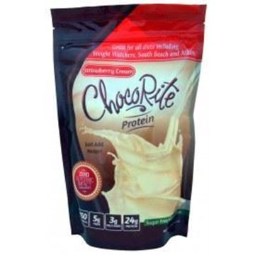 Picture of Chocorite Protein Shake (1lb)- Strawberry and Cream