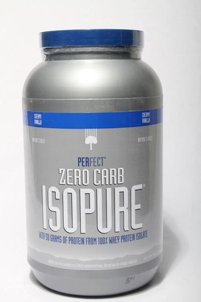 Picture of Isopure Whey Protein Shake (3lb)- Creamy Vanilla