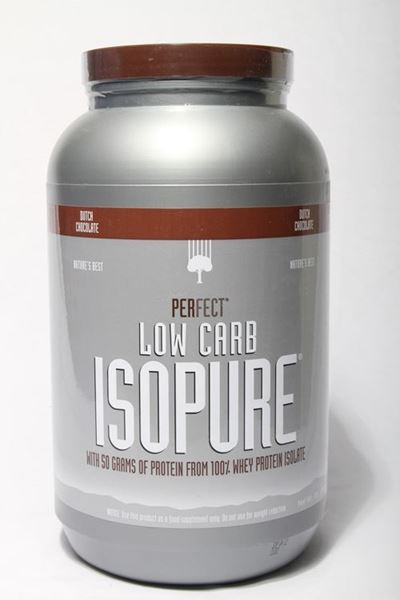 Picture of Isopure Whey Protein Shake (3lb)- Dutch Chocolate