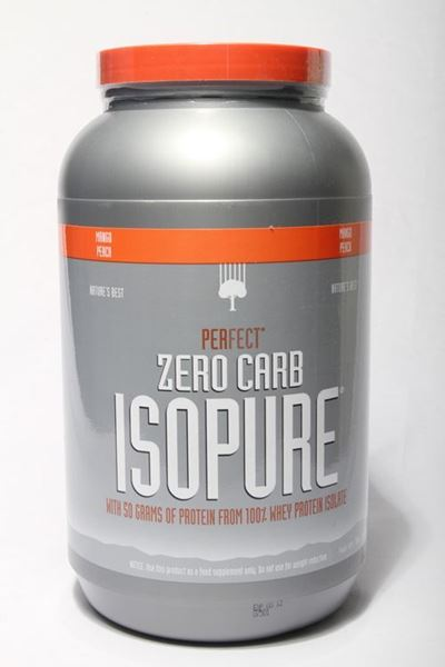 Picture of Isopure Whey Protein Shake (3lb)- Mango Peach