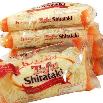 Picture of Tofu Shirataki Spaghetti Shaped Noodle
