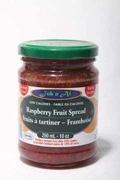 Picture of Jok-N-Al Raspberry Fruit Spread