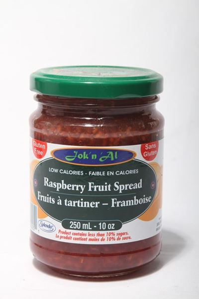 Picture of Jok-N-Al Raspberry Fruit Spread