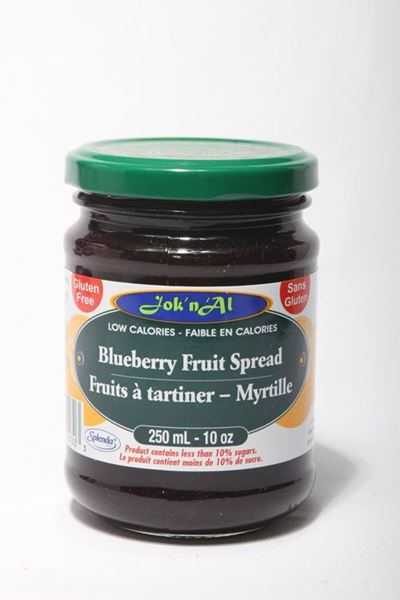 Picture of Jok-N-Al Blueberry Fruit Spread