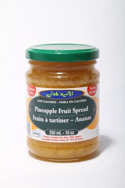 Picture of Jok-N-Al Pineapple Fruit Spread