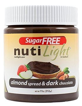 Picture of Nuti light - Almond Spread & Dark Chocolate