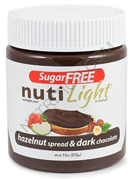 Picture of Nuti light - Hazelnut Spread & Dark chocolate