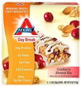 Picture of Atkins Day Break - Cranberry Almond Bar