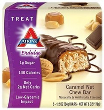 Picture of Atkins Endulge - Caramel Nut Chew Bar