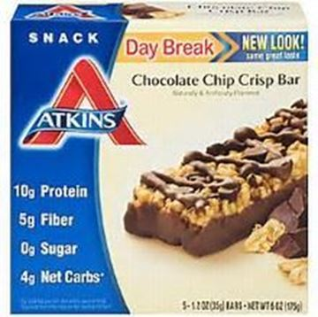 Picture of Atkins Snack - Chocolate Chip Crisp Bar