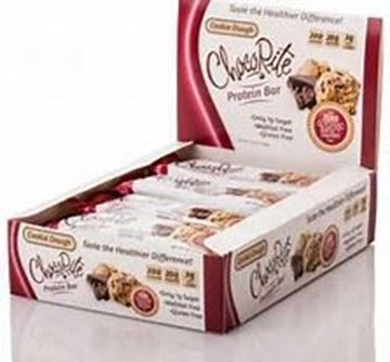 Picture of Chocorite Protein Bar ( 64g) - Cookie Dough Box of 12 Bars