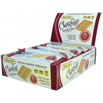 Picture of Chocorite Protein Bar ( 64g) - Yellow cake Box of 12 Bars