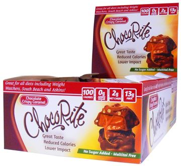 Picture of Chocorite Bar - Chocolate Crispy caramel Box of 16 Bars