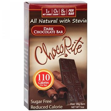 Picture of Chocorite Bar (Five 28g ) - Dark Chocolate