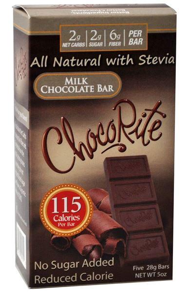 Picture of Chocorite Bar (Five 28g ) - Milk Chocolate