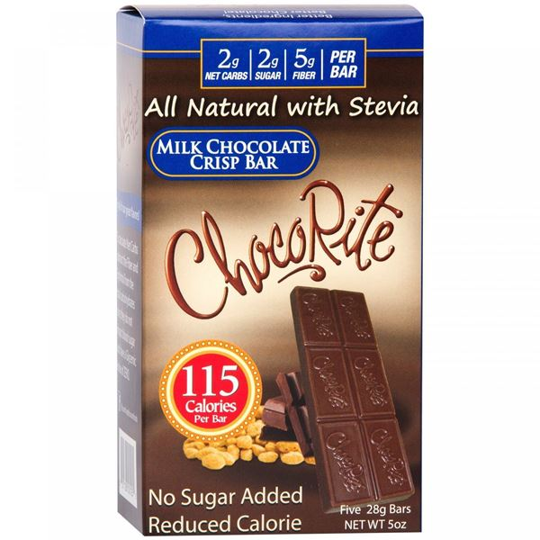 Picture of Chocorite Bar (Five 28g ) - Milk Chocolate Crisp