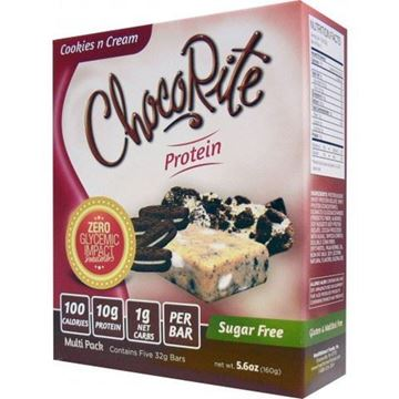 Picture of Healthsmart Chocorite Bar - Cookies N  Cream