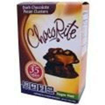 Picture of Healthsmart ChocoriteBar(Value pack)Dark Chocolate Pecan Cluster
