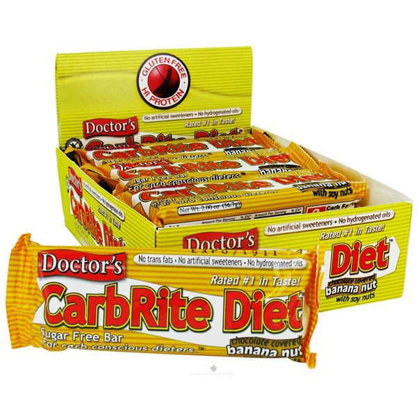 Picture of Doctor's CarbRite Diet - Banana Nut Box of 12 Bars