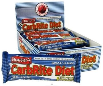 Picture of Doctor's CarbRite Diet - Blueberry Cheesecake Box of 12 Bars