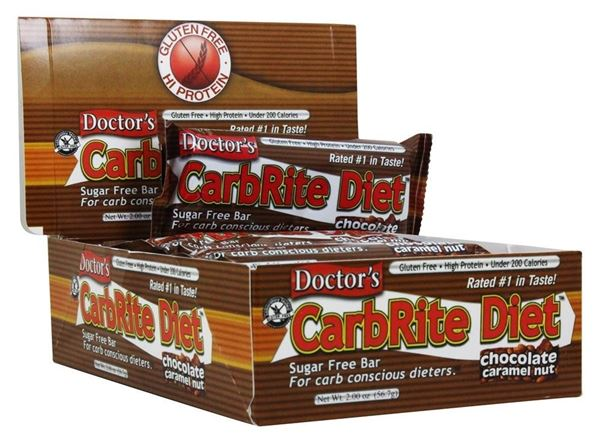 Picture of Doctor's CarbRite Diet - Chocolate Caramel Nut Box of 12 Bars