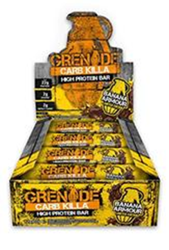 Picture of Grenade carb killa Protein Bar - Banana Armour Box of 12 Bars