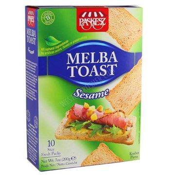 Picture of Melba Toast - Sesame