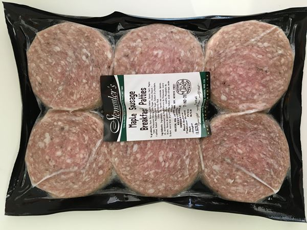 Picture of Stemmler's Maple Sausage Breakfast Patties