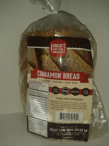 Picture of Great low Carb Bread - Cinnamon