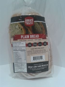 Picture of Great low carb bread - Plain