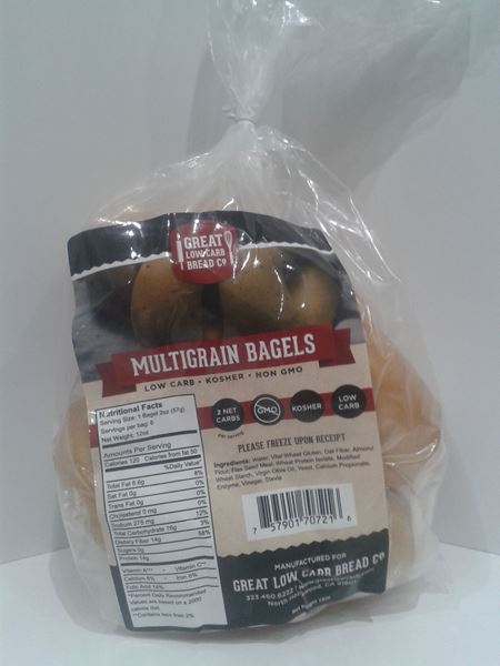 Picture of Great Low Carb Bagel - Multigrain