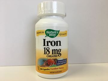 Picture of Nature's Way Iron 18 mg