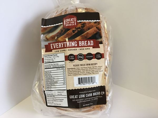 Picture of Great low Carb Bread - Everything