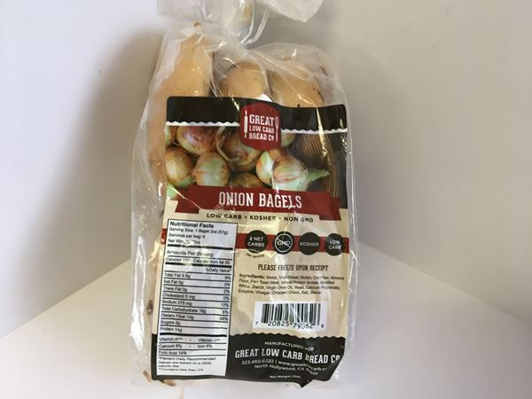 Picture of Great Low Carb Bagel - Onion