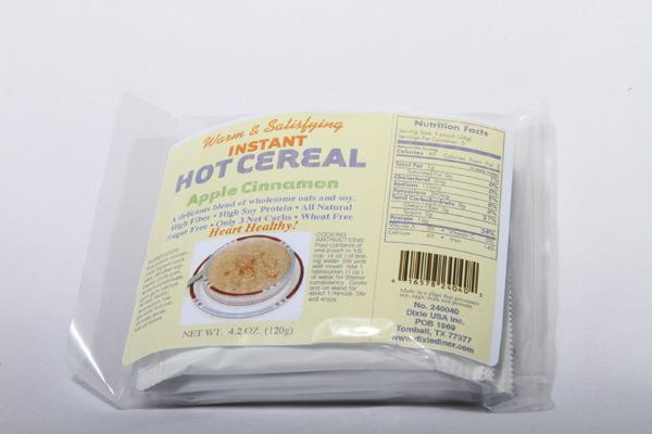 Picture of Hot Cereal - Apple Cinnamon