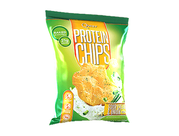 Picture of Quest Protein Chips - Sour cream & Onion flavour