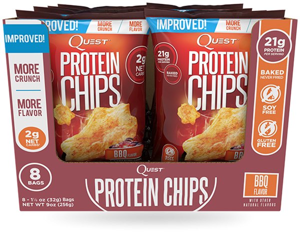 Picture of Quest Protein chips - BBQ -  Box Of 8