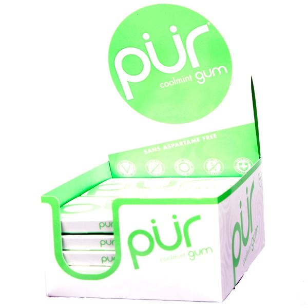 Picture of Pur gum - Coolmint  Box Of 12