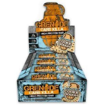 Picture of Grenade carb Killa Protein Bar -  Cookie Dough Box of 12 Bars