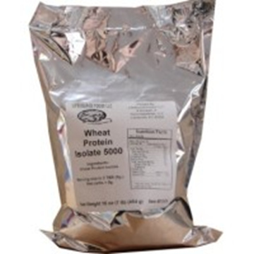 Picture of Lifesource foods - Wheat protein isolate 5000 1lb.
