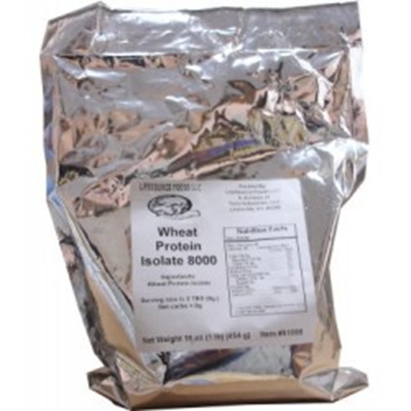 Picture of Lifesource foods - Wheat Protein Isolate 8000 1lb.